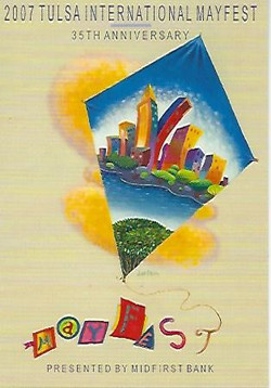 2007 Tulsa Festival Poster