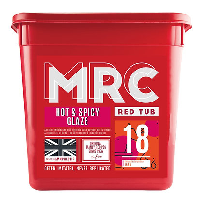 MRC 2.5KG Hot and Spicy Glaze