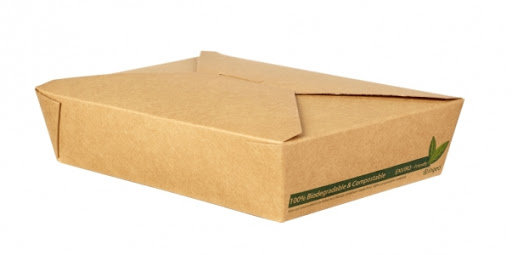 No 2 Dispo-Pak Kraft Food Cartons