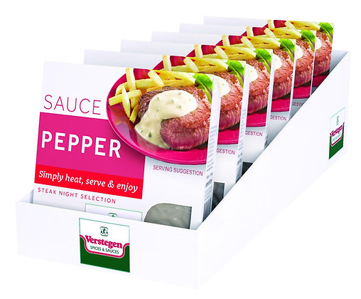 6 x 80ml Verstegen Micro Pepper Sauce
