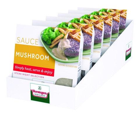 6 x 80ml Verstegen Micro Mushroom Sauce