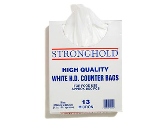 High Quality White Boxed HD Counter Bags