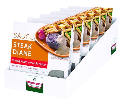 6 x 80ml Verstegen Micro Steak Diane Sauce