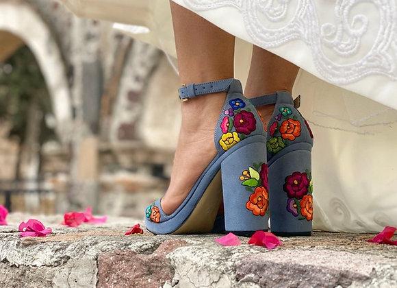 LoLas Heels - Celeste Blue