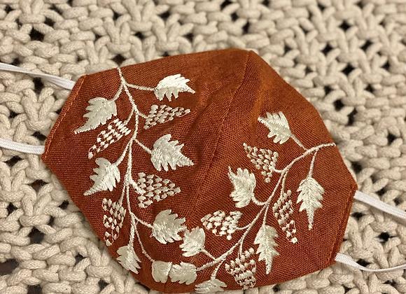 Sahara Embroidered Mask