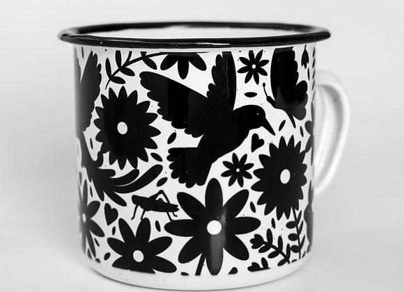 Otomi Pocillo Mug - Black