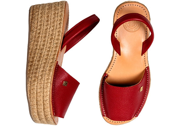 Morkas Classic Espadrille - Red