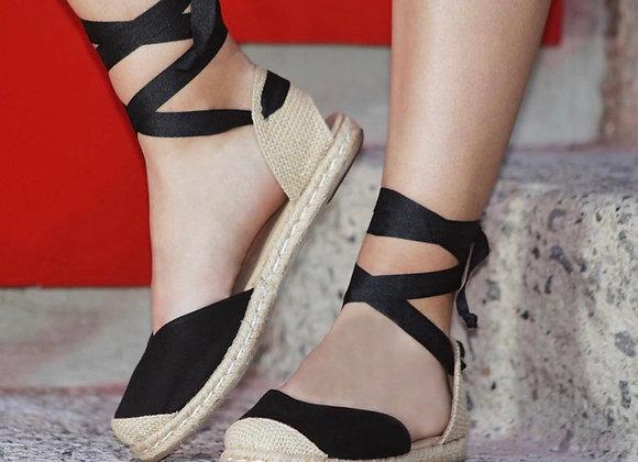 Coco Ballerina Flat - Black