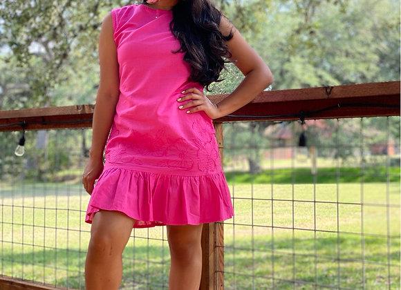 Fausta Midi Tassel Dress