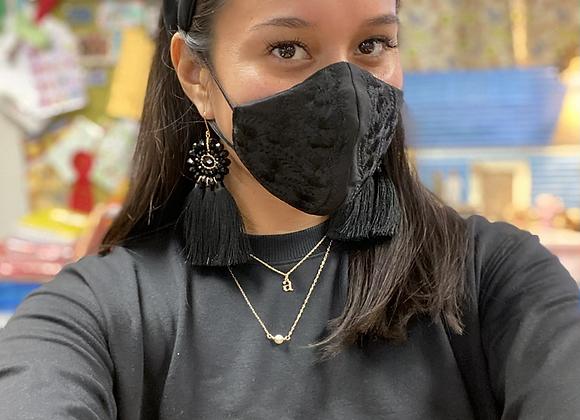 Katrina Embroidered Mask