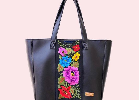 Yatziri Shoulder Bag - Black