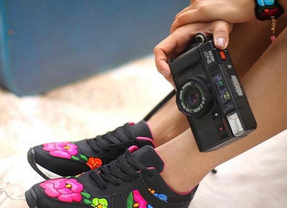 Juliana Tennis Shoes - Black