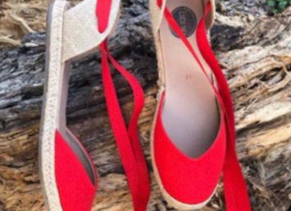 Coco Ballerina Flat - Red