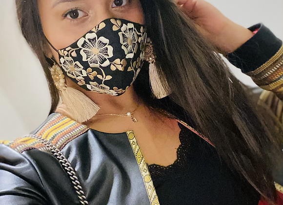 Karla Embroidered Mask