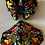 Thumbnail: Black Garden Embroidered Mask