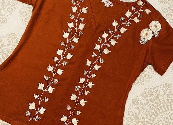Julieta Embroidered Top