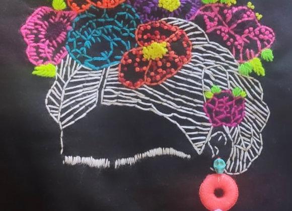 """Yo te Cielo"" - Frida Kahlo Sweatshirt - Black"