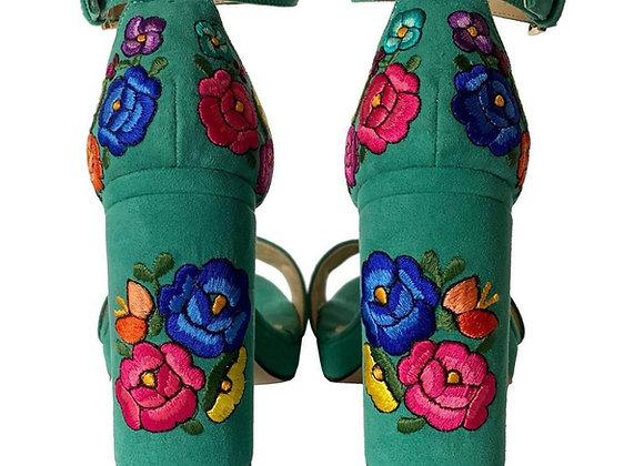 LoLas Heels - Turquoise