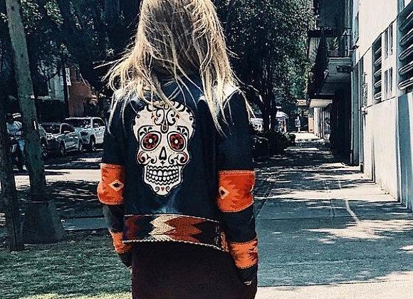 La Viva-Matilde Leather Jacket - Dia de Los Muertos Special Ed.