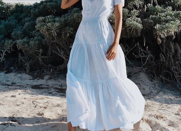 Amelia Off-the-Shouler Maxi Dress