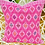 Thumbnail: Pink Larrainzar Pillow Shams - Set of 2