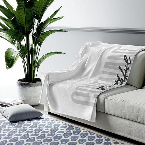 Velveteen Plush Blanket - Faithful