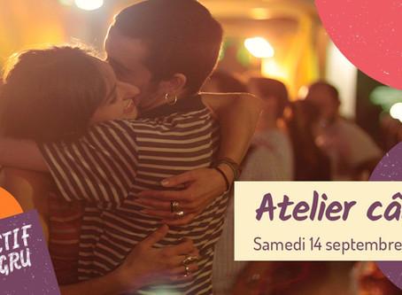 Atelier Câlins - COMPLET - 14 septembre 19 - Lyon