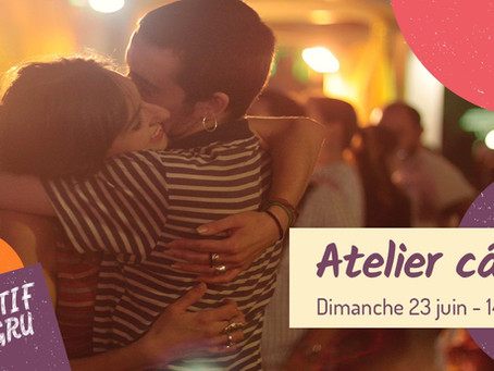 Atelier Câlins Lyon - 23 juin 2019