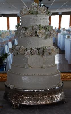 Jenn's Wedding Cake