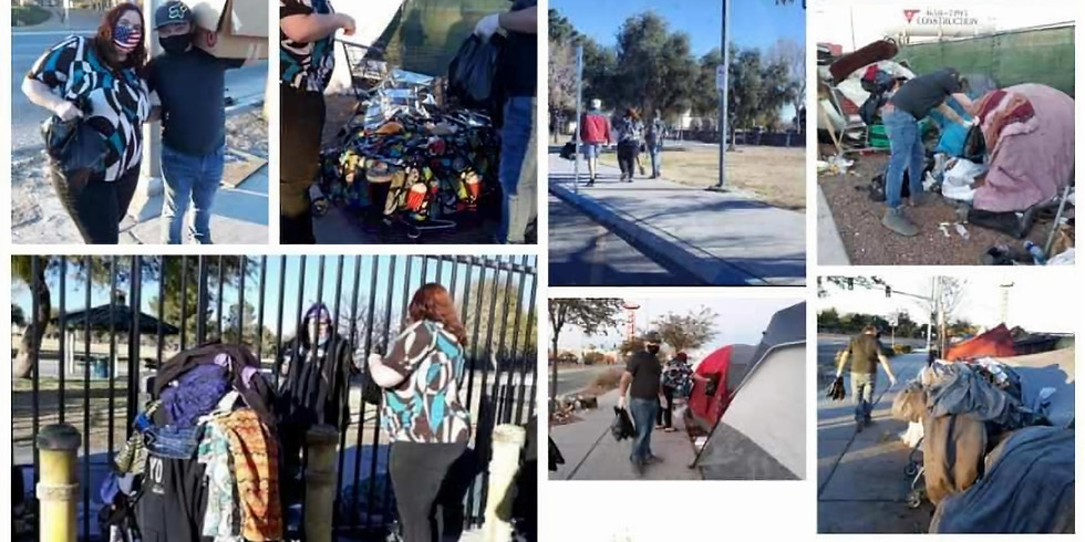 Mikey's 26th Birthday Giving Back to our Homeless Friends