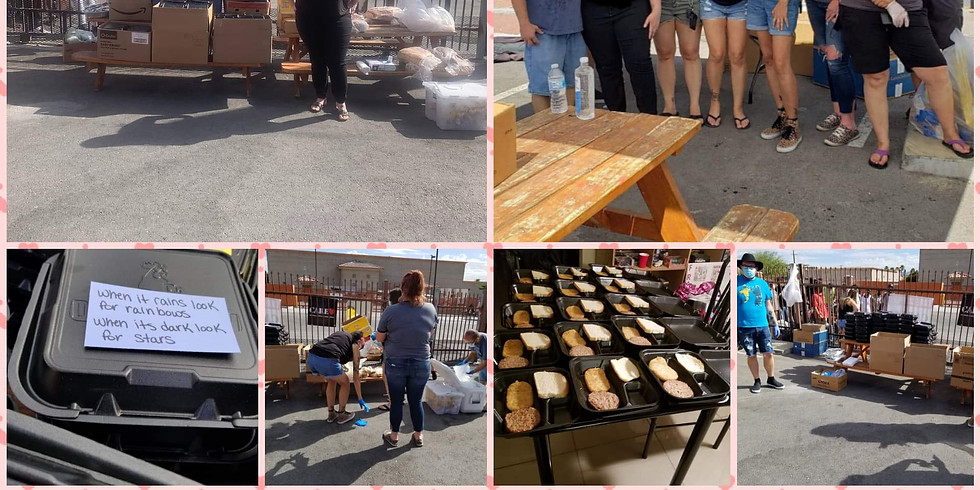 July Breakfast with our homeless friends