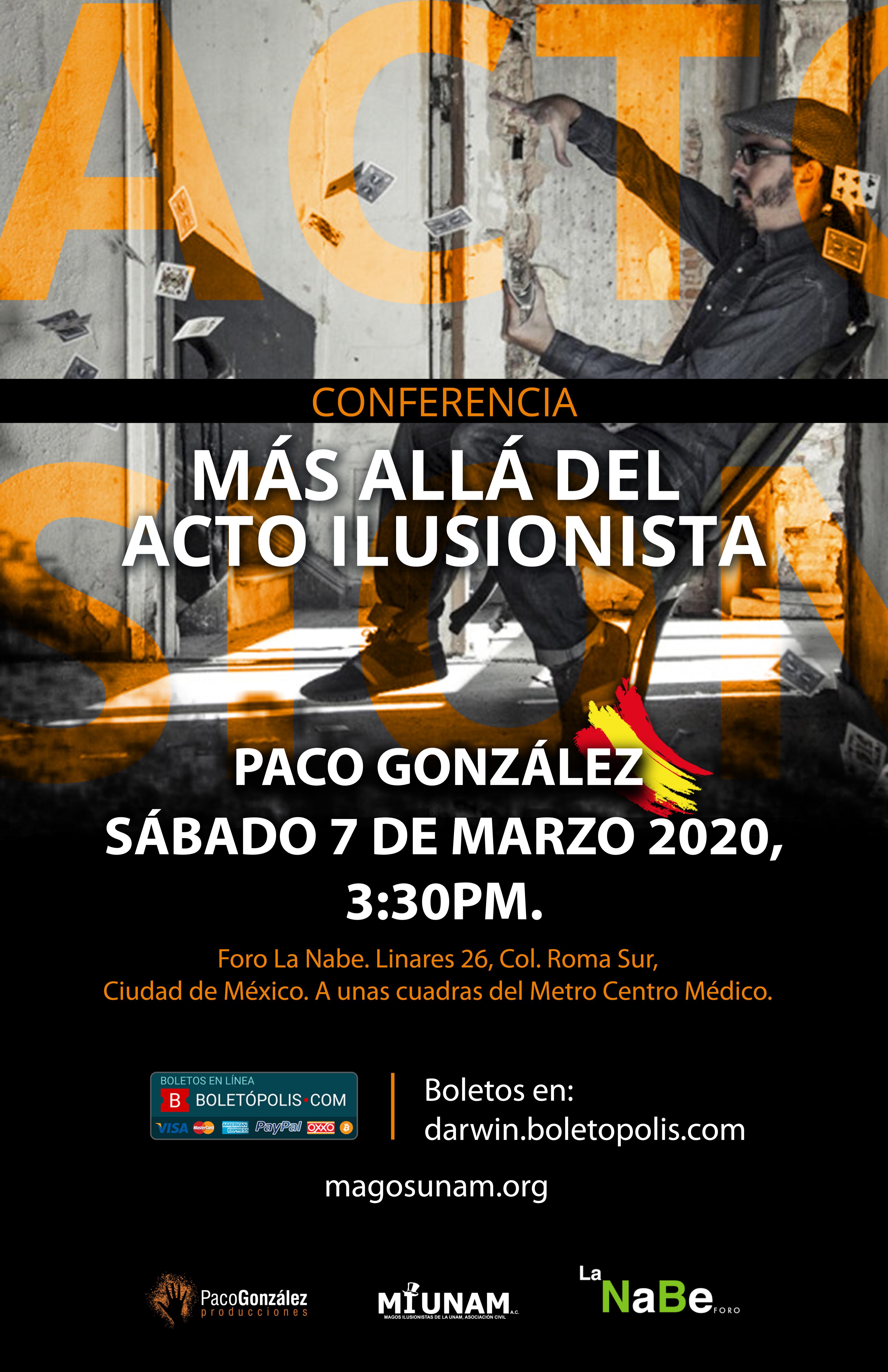 Paco González Conferencia 2020