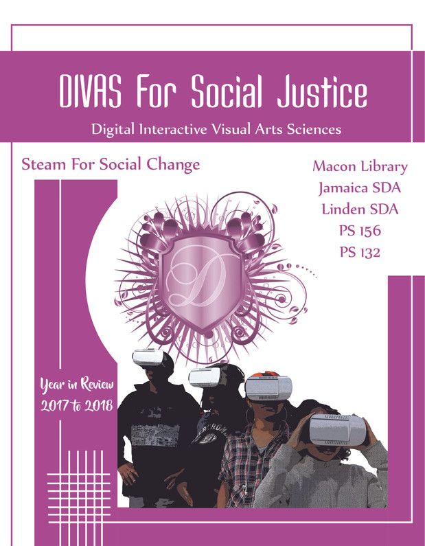 DIVAS For Sicial Justice Cover 2018