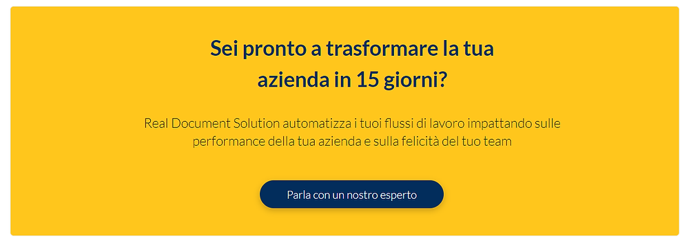 software gestione documentale real document solution