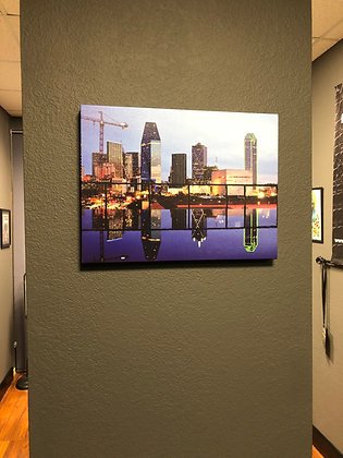Custom Gallery Wrapped Canvas by Dallas Revealed