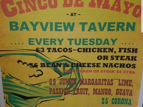 taco tuesday menu