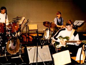 Schallplattenaufnahme im Rosenthal Theater Selb, Mai 1984