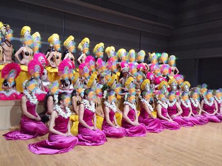 ティアオロ本校の発表会で踊りました❣️
