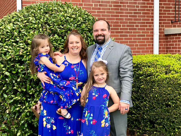 Dr. Wesley McCarter and Family