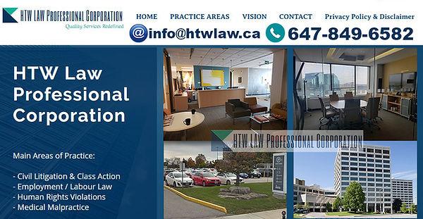 HTW Law - Employment Lawyer Toronto