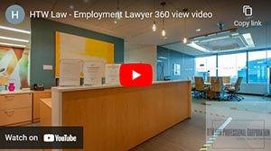 HTW Law - Employment Lawyer 360 Video