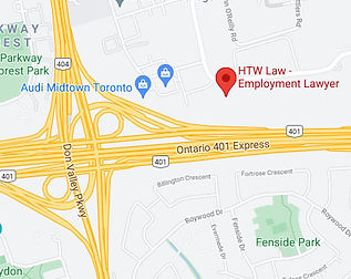 Select an Employment Lawyer in Toronto or in a Convenient Place Near Me
