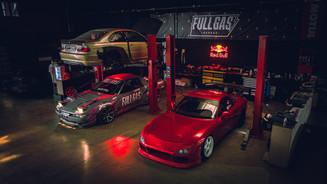 Red Bull - Full Gas Garage