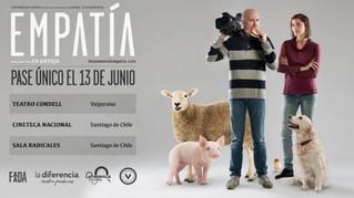 ¡El documental EMPATÍA llega a Chile!