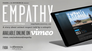 Empathy is now available worldwide on VIMEO!