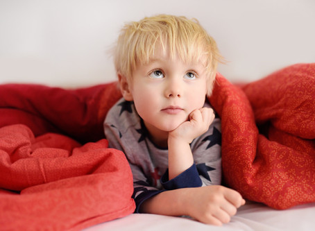 Does your child struggle to fall asleep at night? It could be Iron Deficiency.