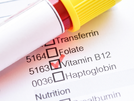 Always tired? foggy head? Could you be deficient in Vitamin B12?