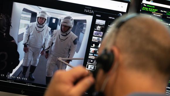 Chegou o dia do lançamento do SpaceX Demo-2 da NASA