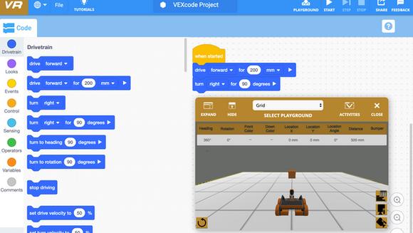 O software de programação de Robôs Virtuais - Uma plataforma gamificada
