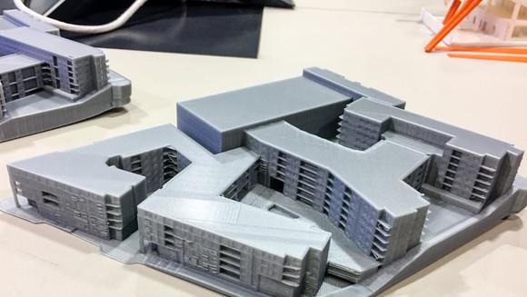 Impressão 3D no projeto arquitetônico global e engenharia